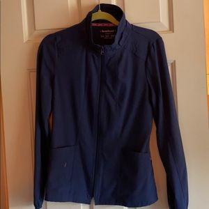 Heart soul zip up nurse jacket